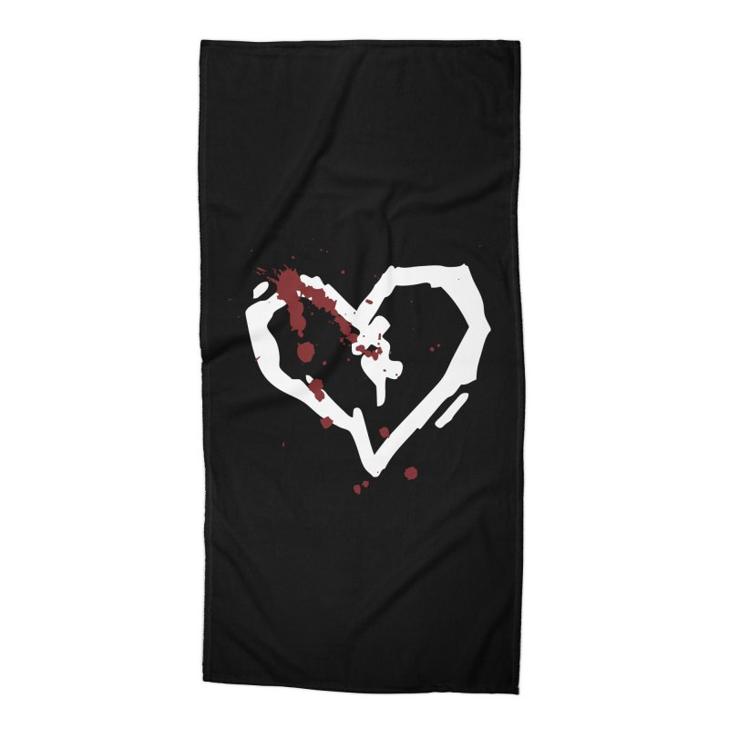 AbsolutePunk.net Logo (Black Products) Accessories Beach Towel by Chorus.fm Shop