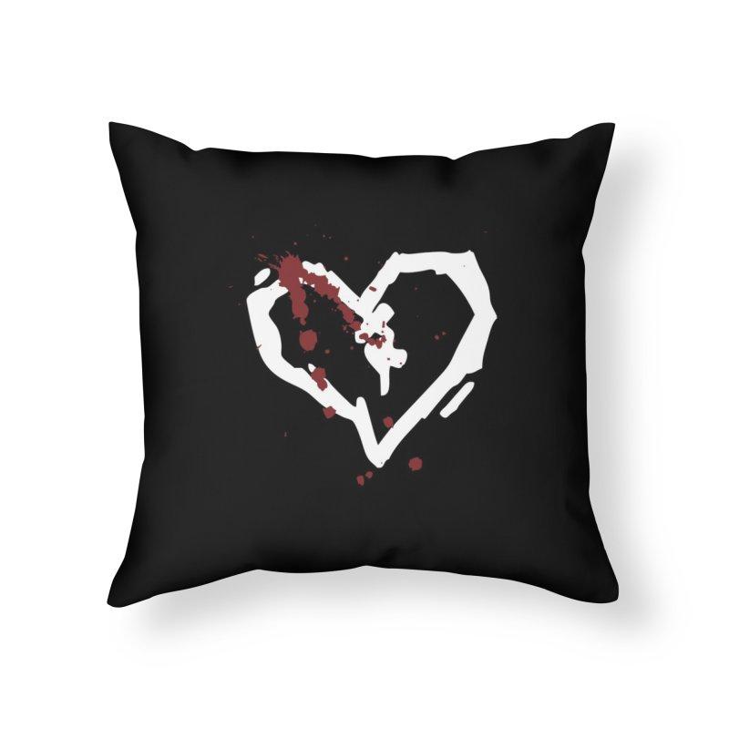 AbsolutePunk.net Logo (Black Products) Home Throw Pillow by Chorus.fm Shop