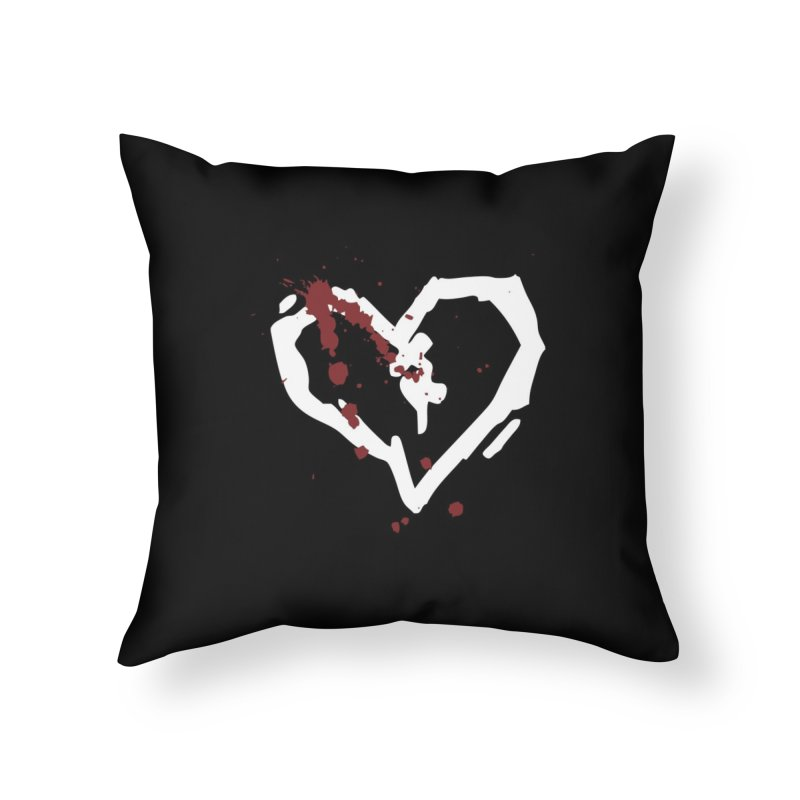 AbsolutePunk.net Logo (Black Products) Home Throw Pillow by Chorus.fm Shop