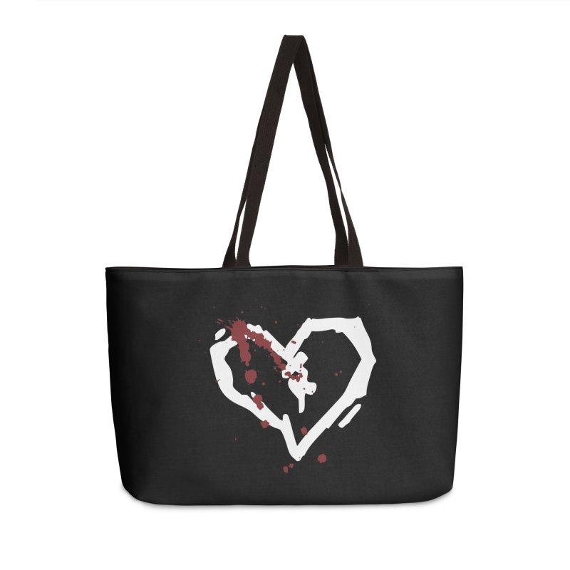 AbsolutePunk.net Logo (Black Products) Accessories Weekender Bag Bag by Chorus.fm Shop