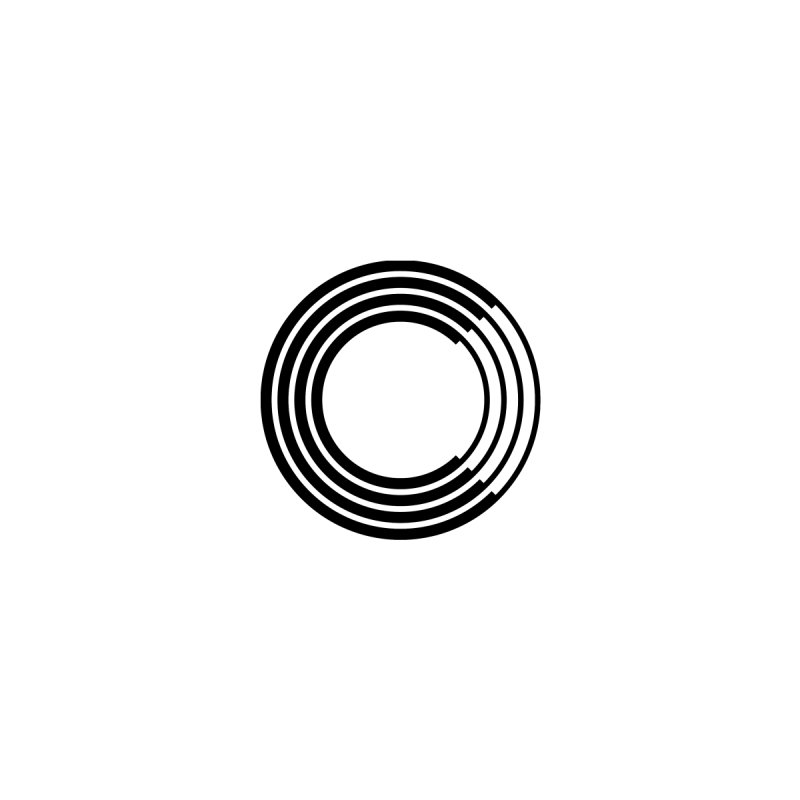 Chorus.fm Black Logo (Breast) Men's T-Shirt by Chorus.fm Shop