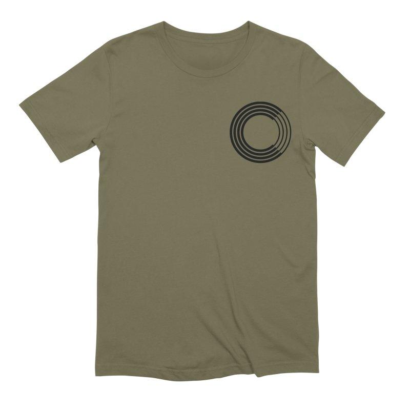 Chorus.fm Black Logo (Breast) Men's Extra Soft T-Shirt by Chorus.fm Shop