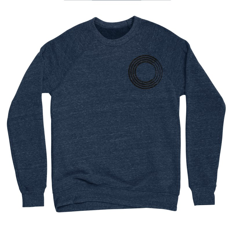 Chorus.fm Black Logo (Breast) Women's Sponge Fleece Sweatshirt by Chorus.fm Shop