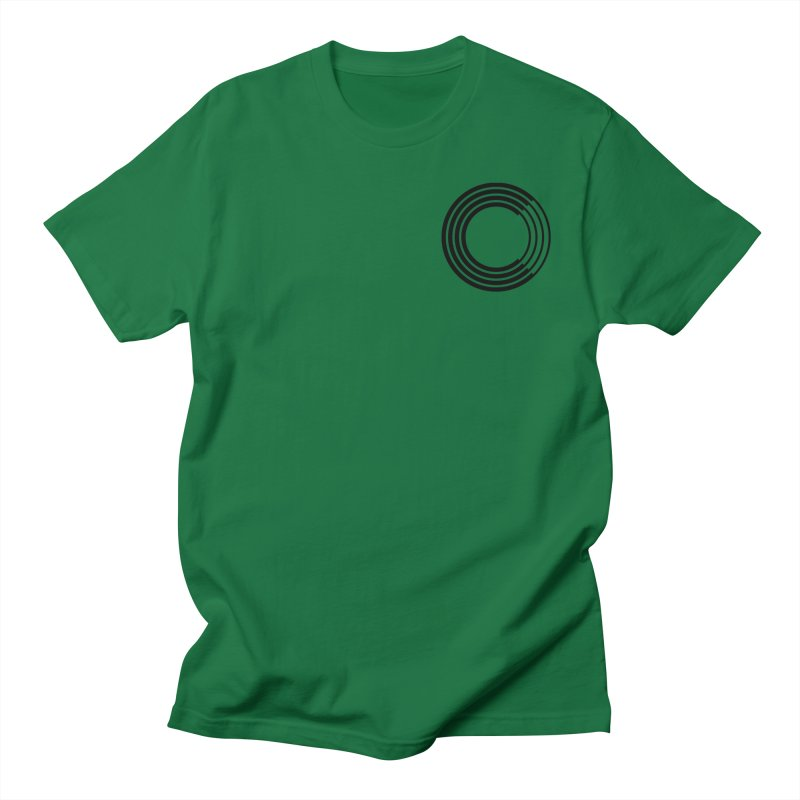 Chorus.fm Black Logo (Breast) Men's T-Shirt by Chorus.fm Shop