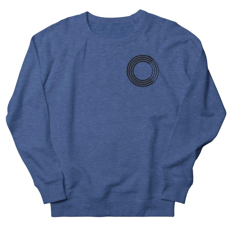 Chorus.fm Black Logo (Breast) Women's French Terry Sweatshirt by Chorus.fm Shop