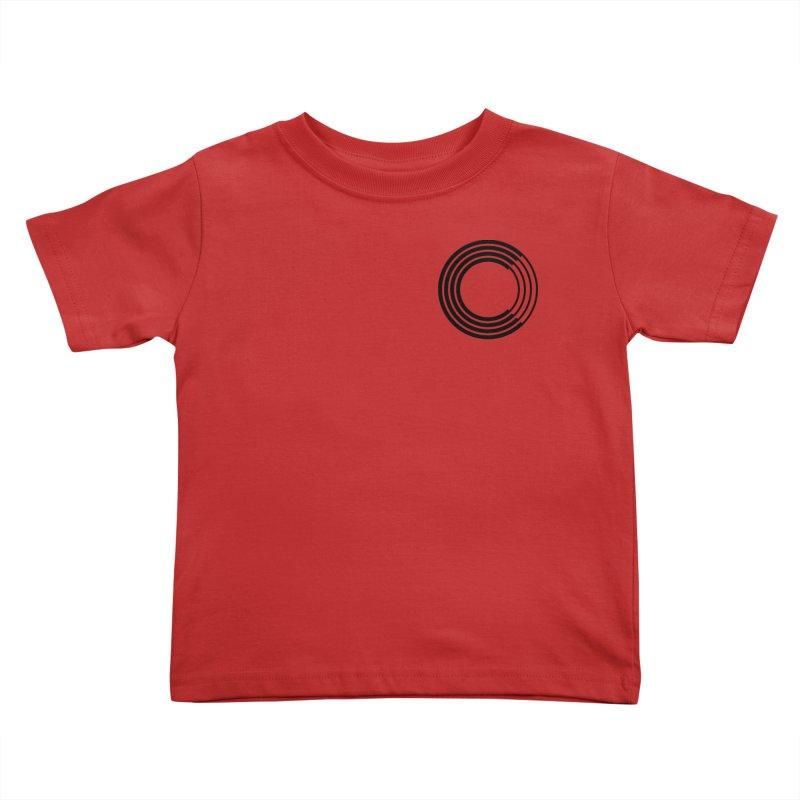 Chorus.fm Black Logo (Breast) Kids Toddler T-Shirt by Chorus.fm Shop