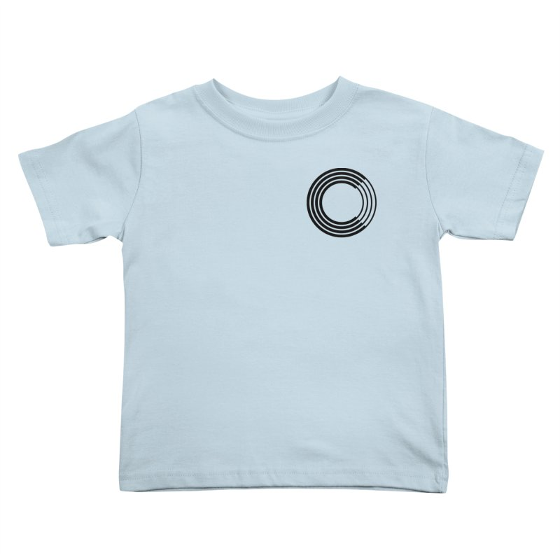 Chorus.fm Black Logo (Breast) Kids Toddler T-Shirt by Chorus.fm Shop