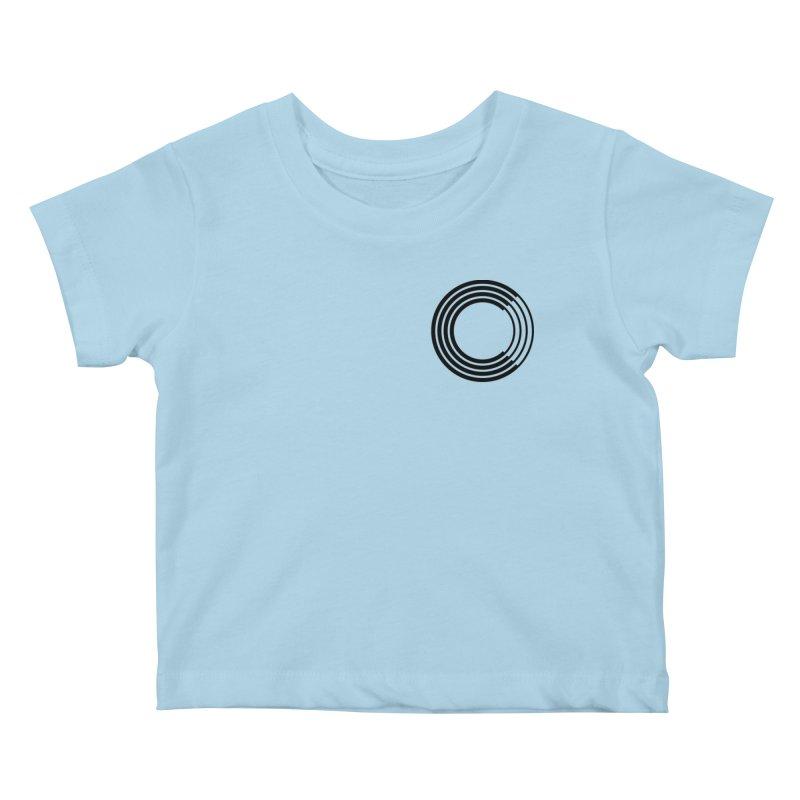 Chorus.fm Black Logo (Breast) Kids Baby T-Shirt by Chorus.fm Shop