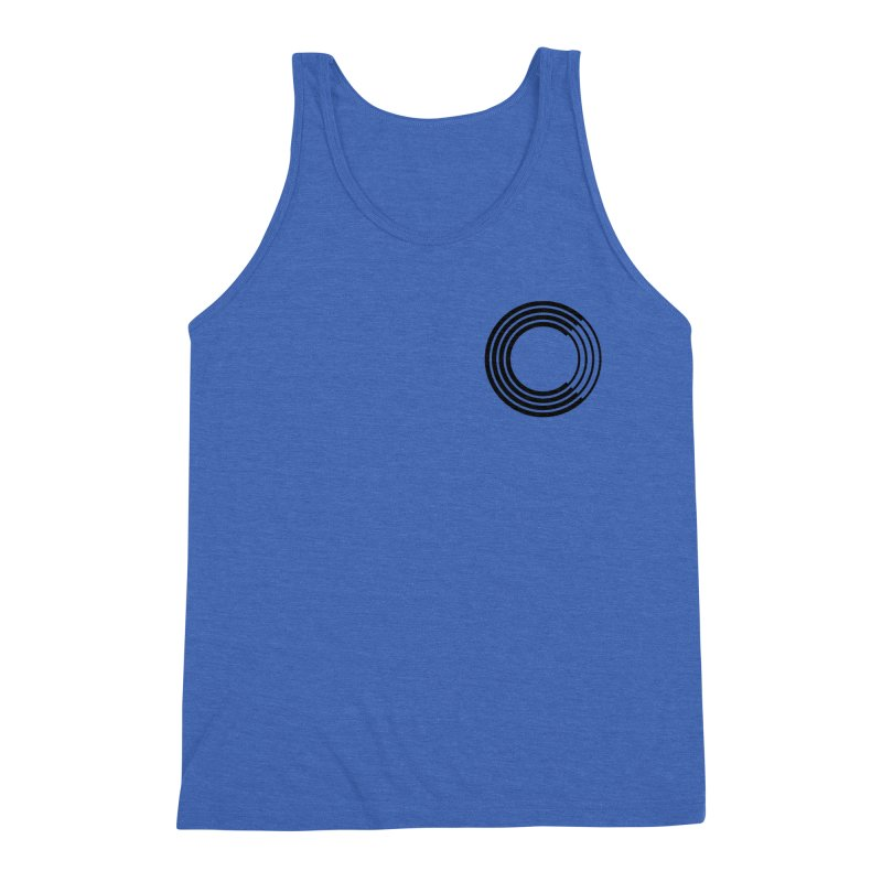 Chorus.fm Black Logo (Breast) Men's Triblend Tank by Chorus.fm Shop