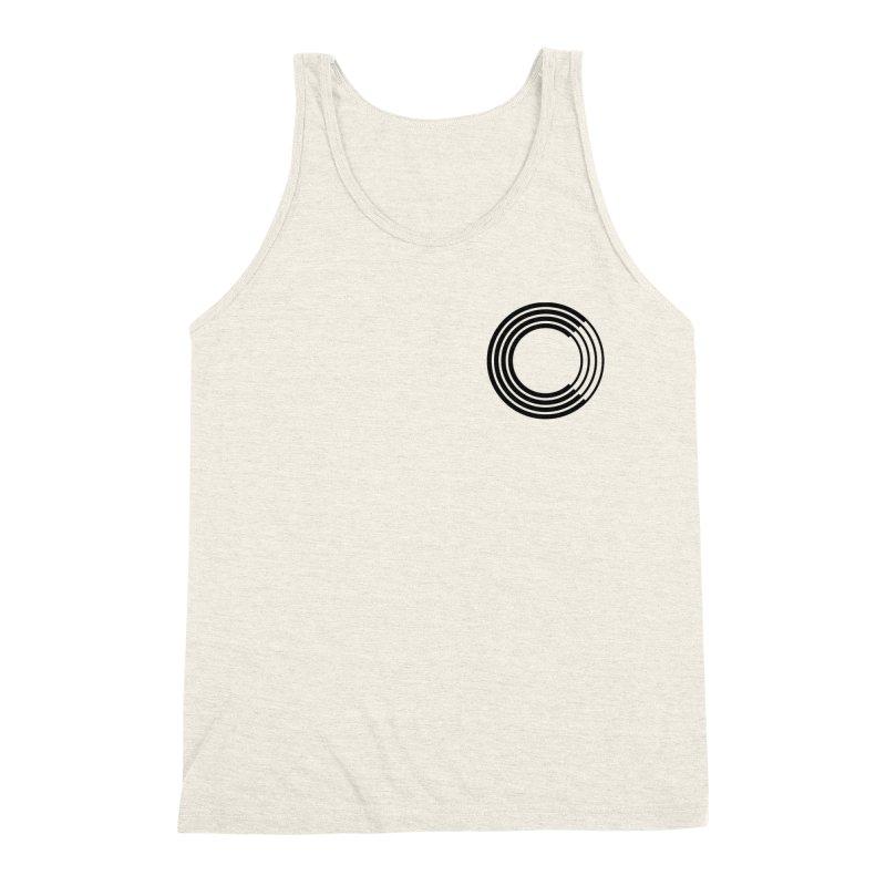 Chorus.fm Black Logo (Breast) Men's Triblend Tank by Chorus.fm Shop