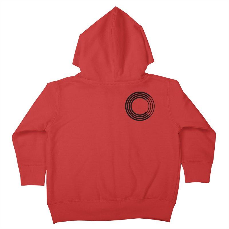 Chorus.fm Black Logo (Breast) Kids Toddler Zip-Up Hoody by Chorus.fm Shop