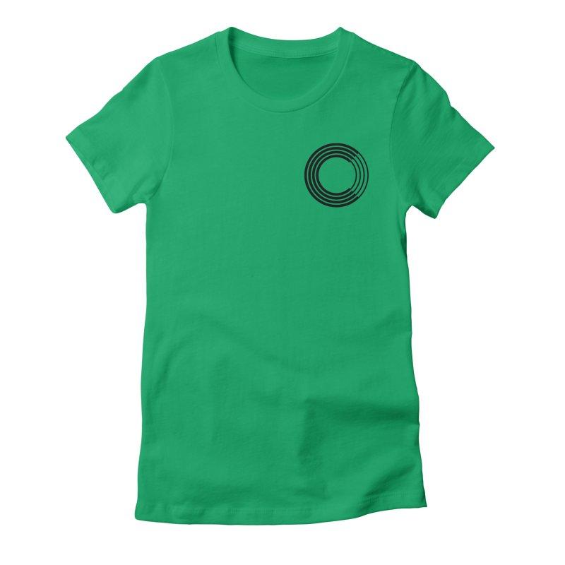 Chorus.fm Black Logo (Breast) Women's T-Shirt by Chorus.fm Shop
