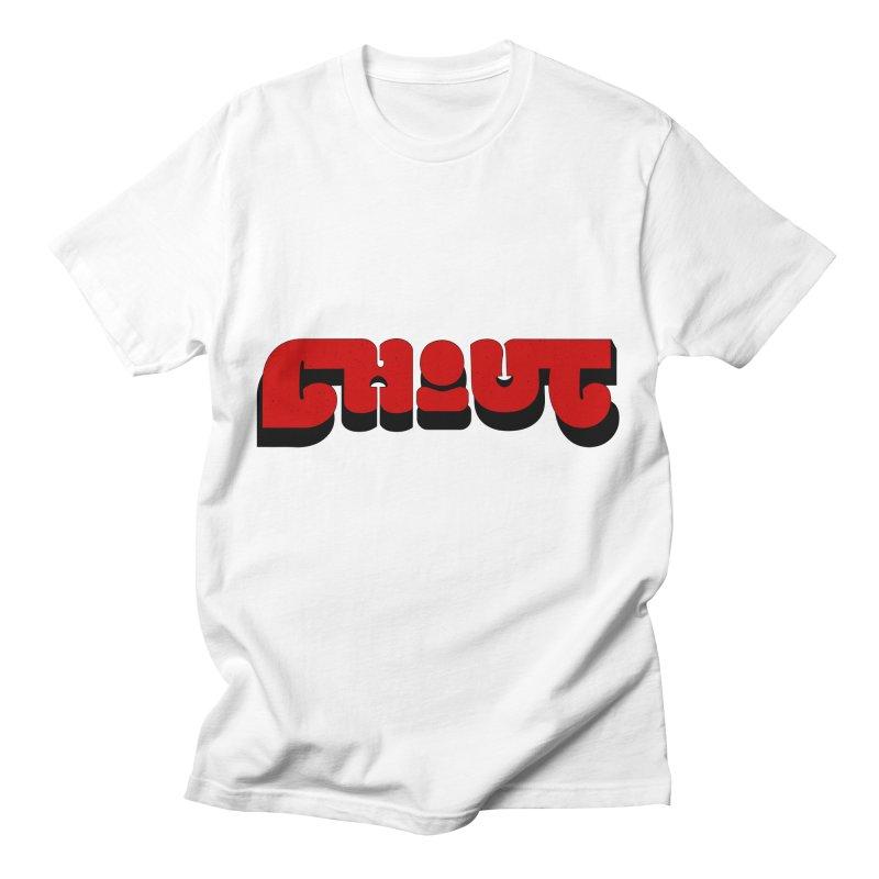 Logo (White) Men's T-Shirt by Chout Merch Store