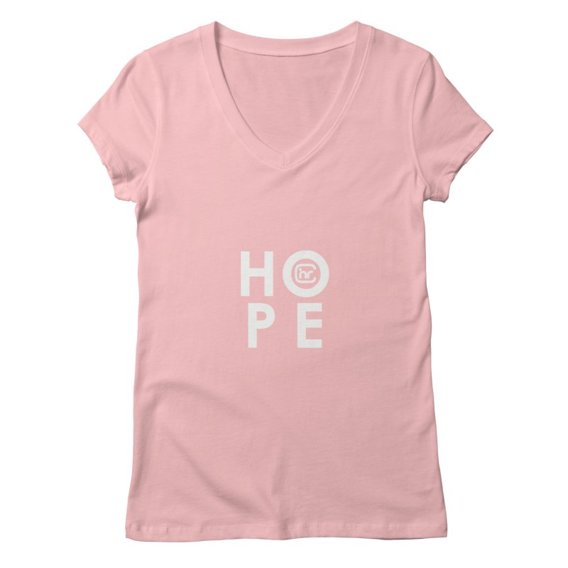 HOPE CHR Women's Regular V-Neck by Church at Hampton Roads Apparel