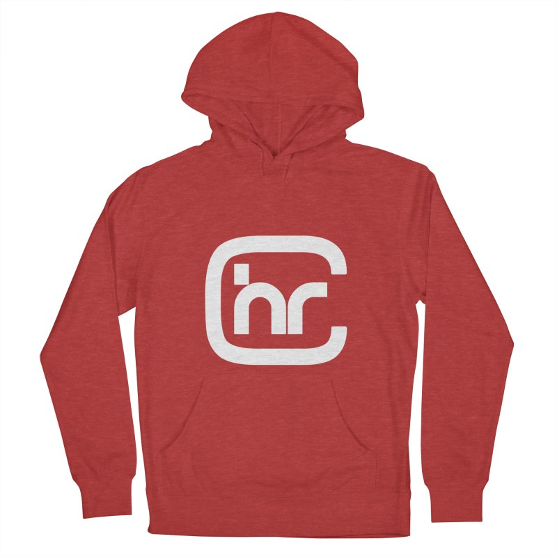CHR WHITE LOGO Women's Pullover Hoody by Church at Hampton Roads Apparel