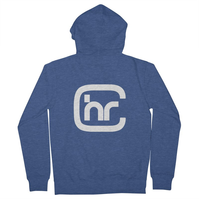 CHR WHITE LOGO Men's Zip-Up Hoody by Church at Hampton Roads Apparel