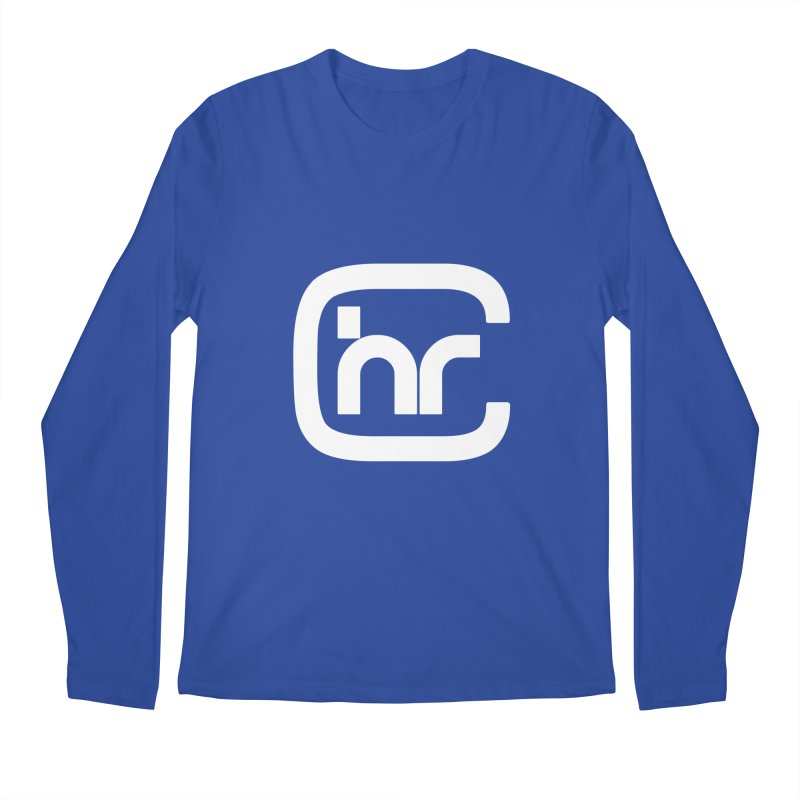 CHR WHITE LOGO Men's Longsleeve T-Shirt by Church at Hampton Roads Apparel