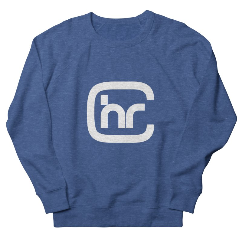CHR WHITE LOGO Men's Sweatshirt by Church at Hampton Roads Apparel