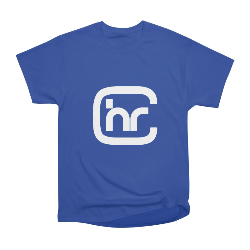 CHR WHITE LOGO Men's T-Shirt by Church at Hampton Roads Apparel