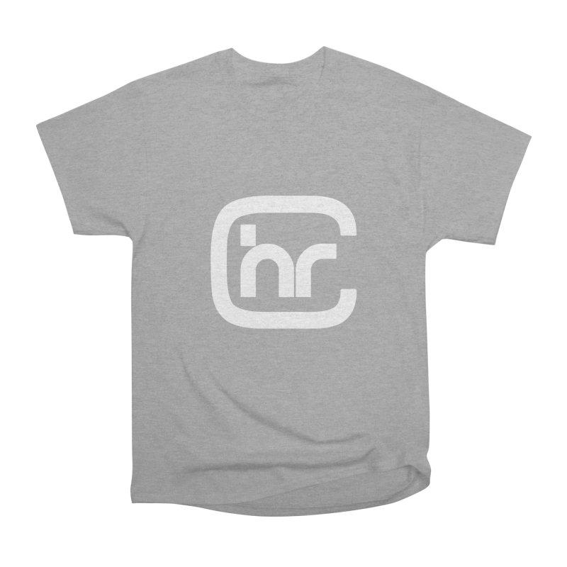 CHR WHITE LOGO Women's Heavyweight Unisex T-Shirt by Church at Hampton Roads Apparel