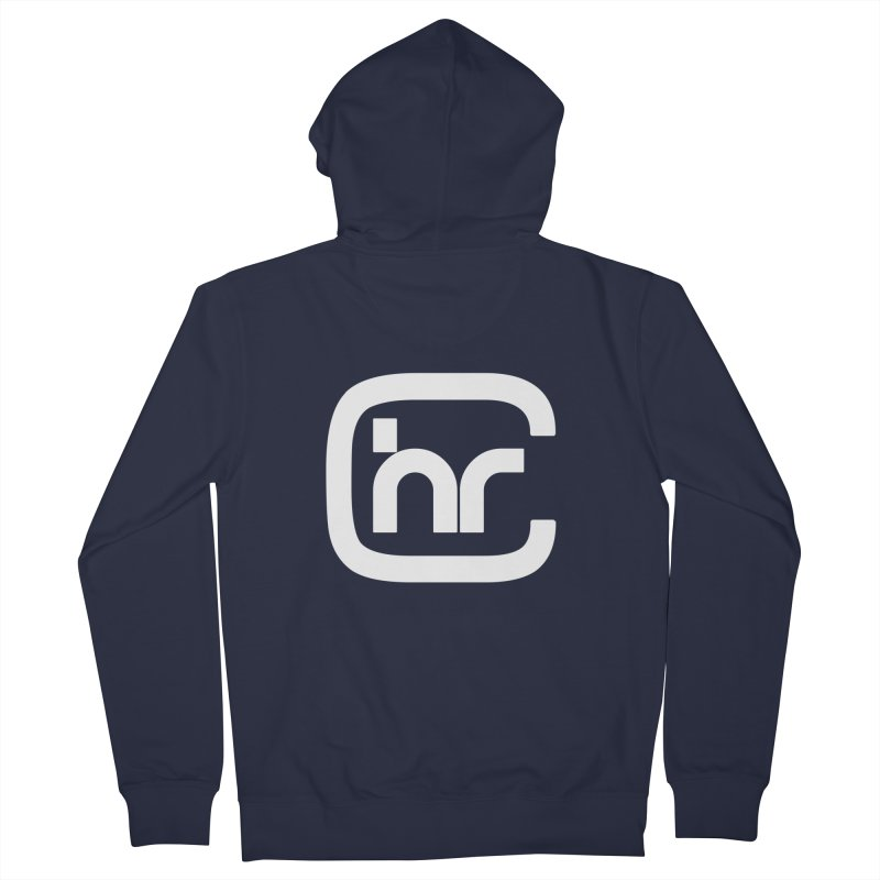 CHR WHITE LOGO Men's French Terry Zip-Up Hoody by Church at Hampton Roads Apparel