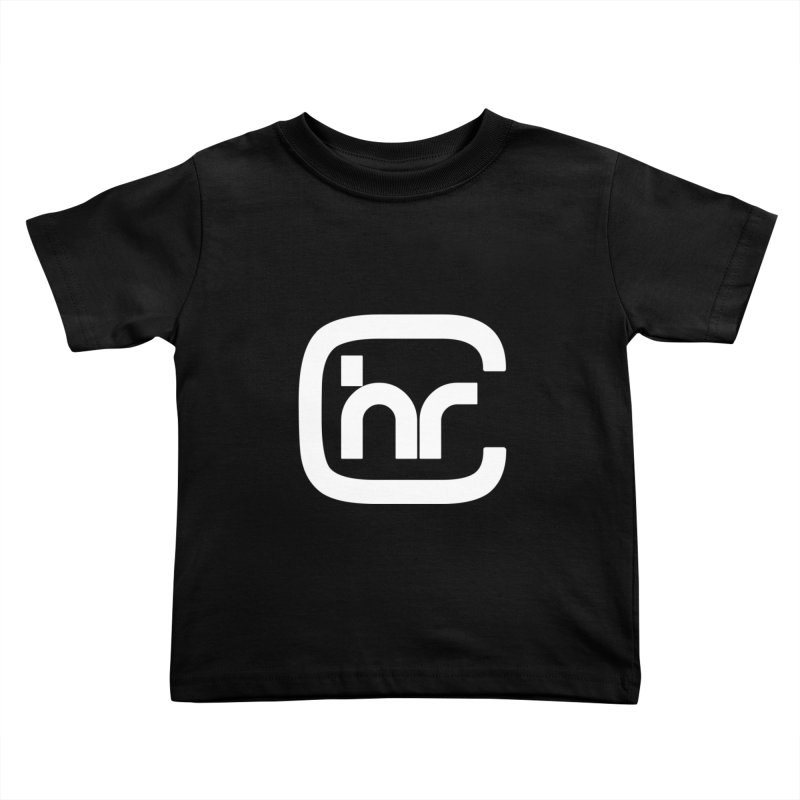 CHR WHITE LOGO Kids Toddler T-Shirt by Church at Hampton Roads Apparel