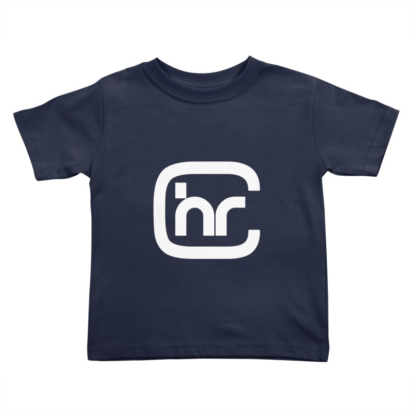 CHR WHITE LOGO Kids Toddler T-Shirt by Church at Hampton Roads Apparel