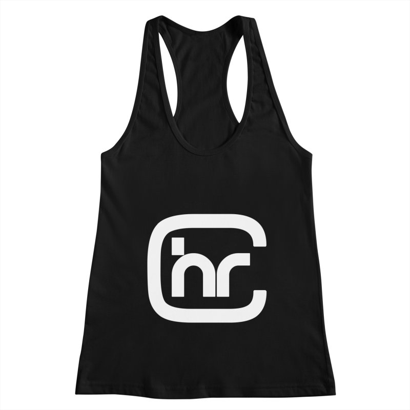 CHR WHITE LOGO Women's Tank by Church at Hampton Roads Apparel
