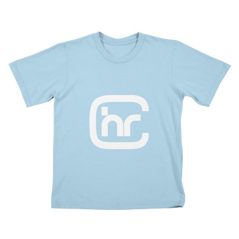 CHR WHITE LOGO Kids T-Shirt by Church at Hampton Roads Apparel