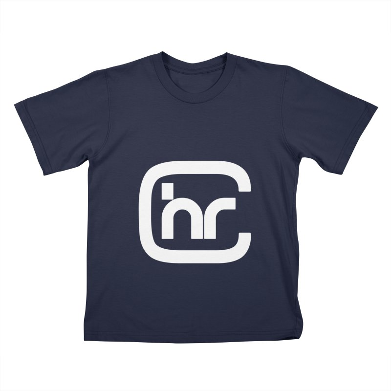 CHR WHITE LOGO Kids T-Shirt by Church at Hampton Roads Apparel