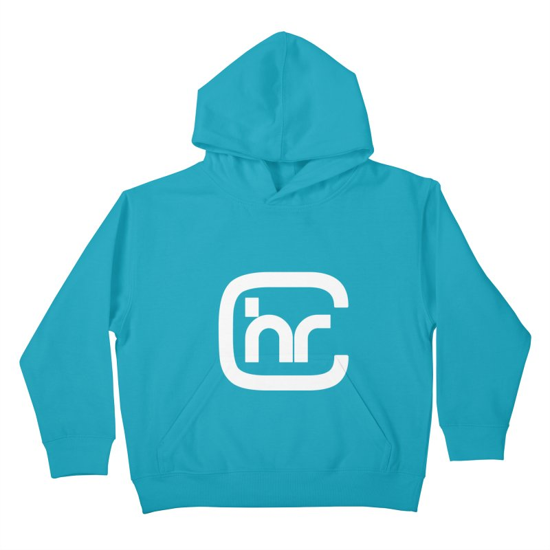 CHR WHITE LOGO Kids Pullover Hoody by Church at Hampton Roads Apparel