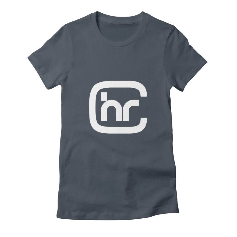 CHR WHITE LOGO Women's T-Shirt by Church at Hampton Roads Apparel