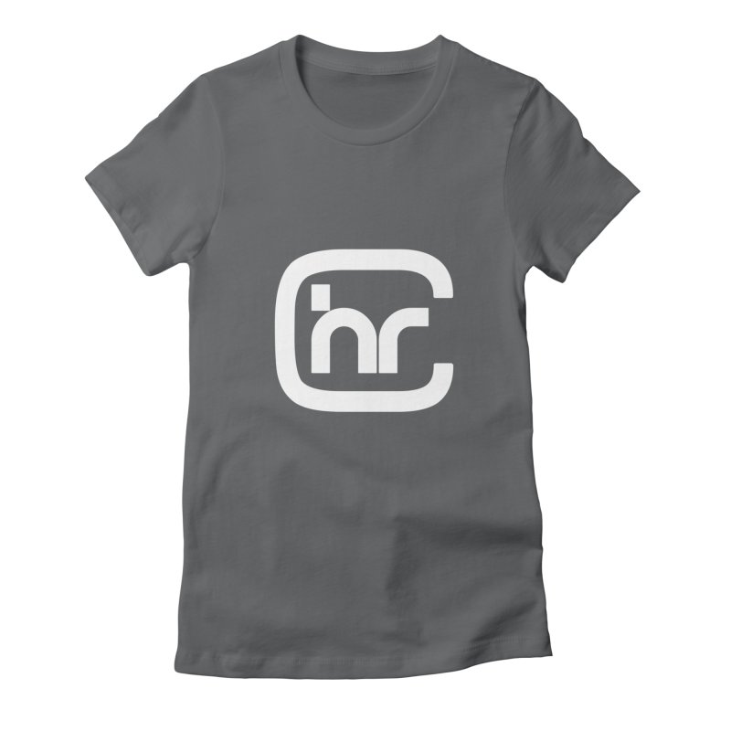 CHR WHITE LOGO Women's T-Shirt by Church at Hampton Roads Apparel