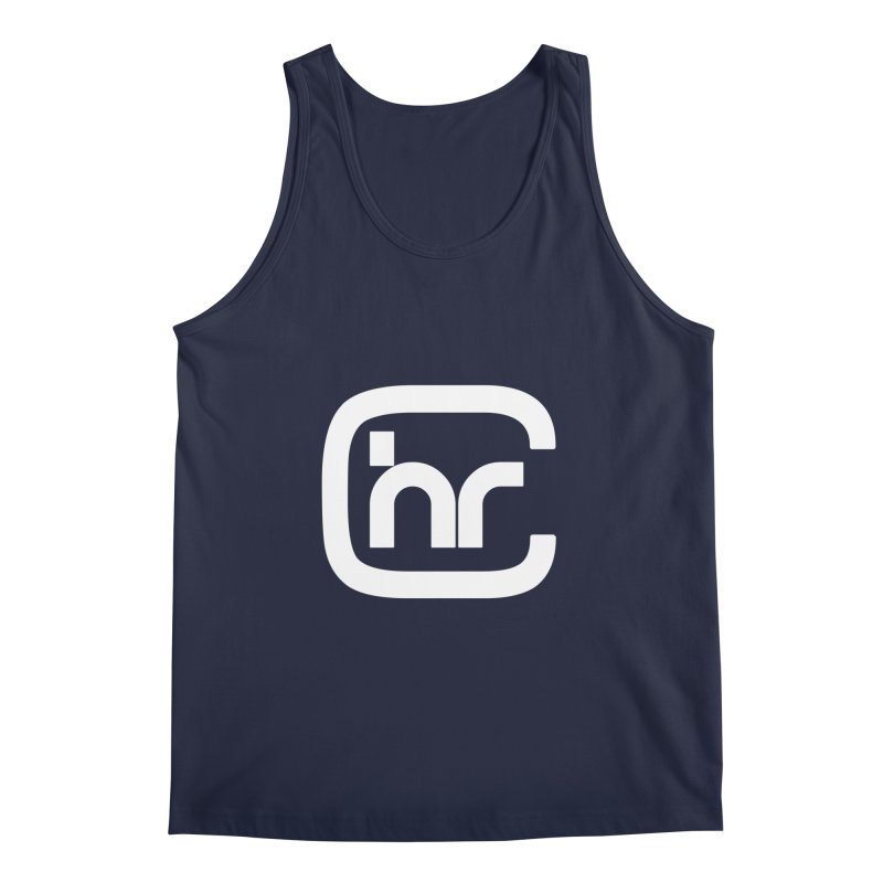 CHR WHITE LOGO Men's Regular Tank by Church at Hampton Roads Apparel