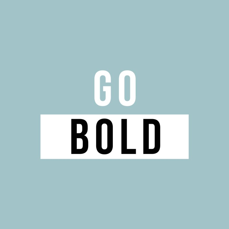 GO BOLD Men's T-Shirt by Church at Hampton Roads Apparel