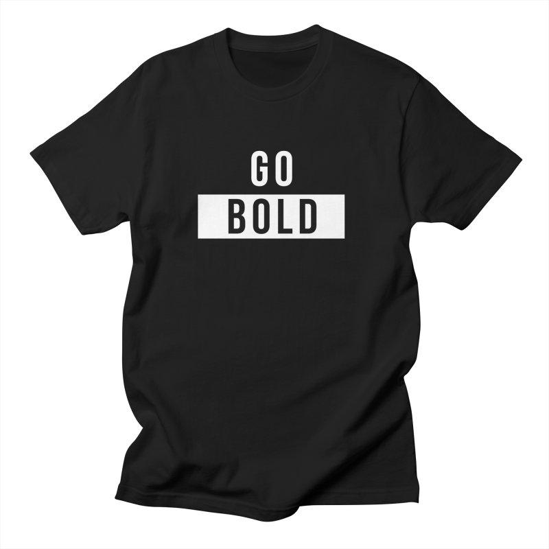 GO BOLD Men's T-Shirt by Church at Hampton Roads Apparel