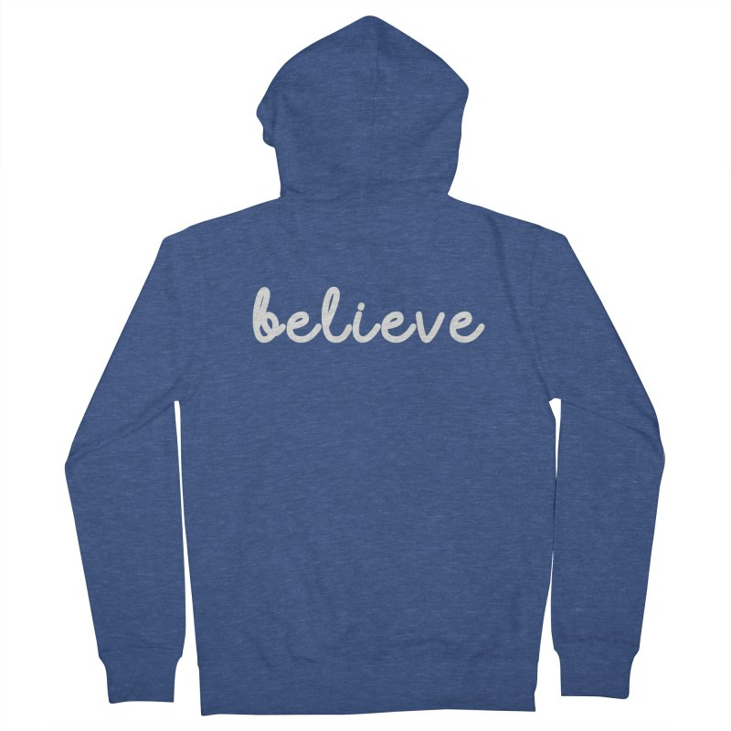 BELIEVE Women's Zip-Up Hoody by Church at Hampton Roads Apparel