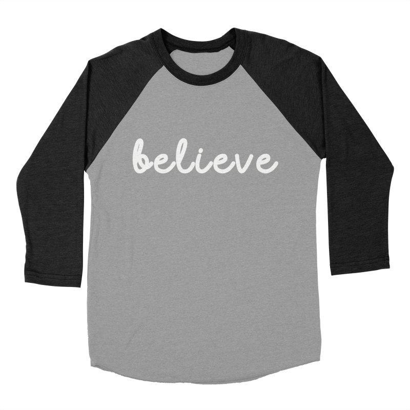 BELIEVE Women's Longsleeve T-Shirt by Church at Hampton Roads Apparel