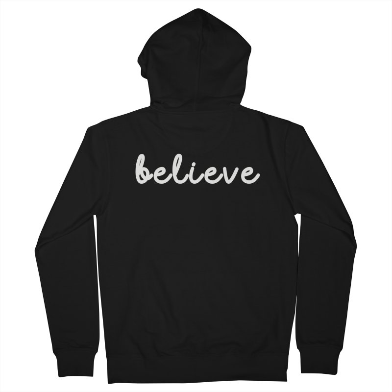 BELIEVE Women's French Terry Zip-Up Hoody by Church at Hampton Roads Apparel