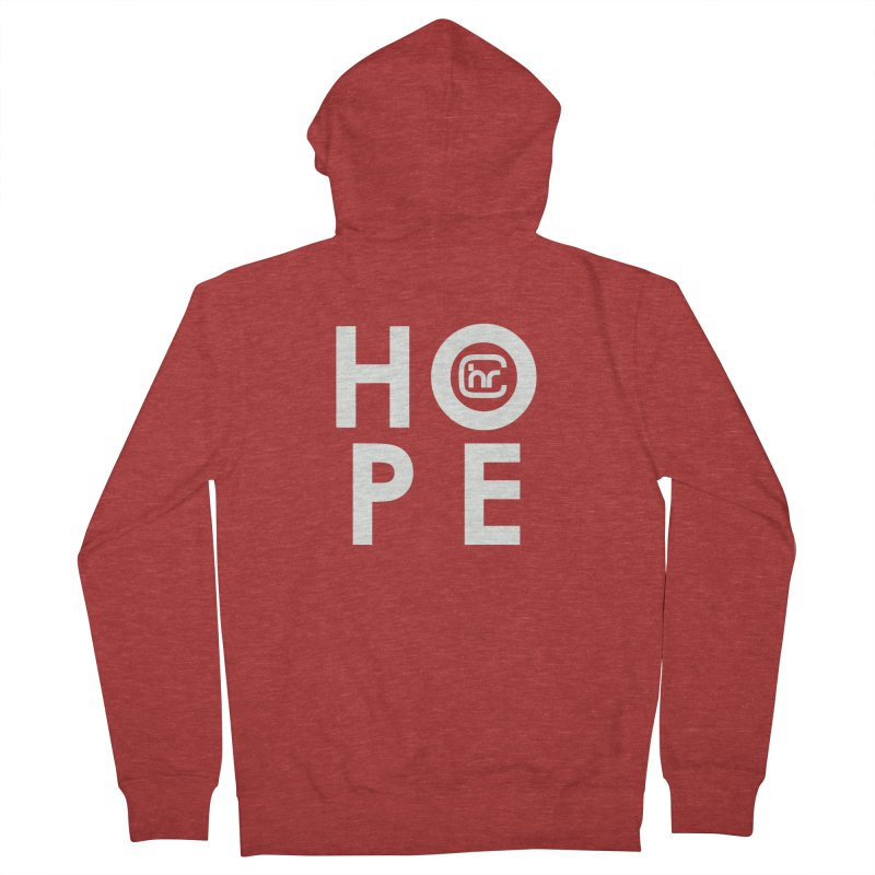 HOPE Men's French Terry Zip-Up Hoody by Church at Hampton Roads Apparel