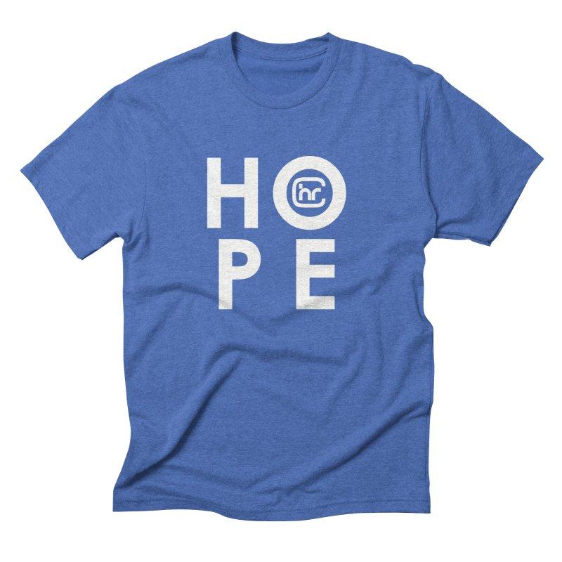 HOPE Men's Triblend T-Shirt by Church at Hampton Roads Apparel