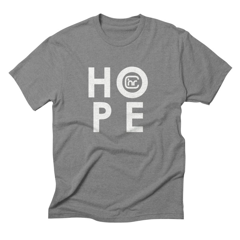 HOPE Men's Triblend T-Shirt by Church at Hampton Roads Apparel