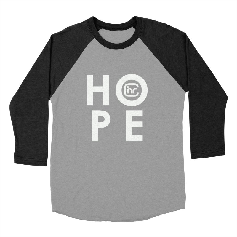 HOPE Women's Baseball Triblend Longsleeve T-Shirt by Church at Hampton Roads Apparel