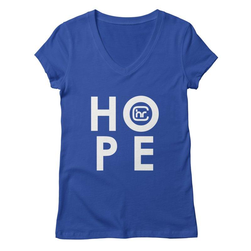 HOPE Women's Regular V-Neck by Church at Hampton Roads Apparel