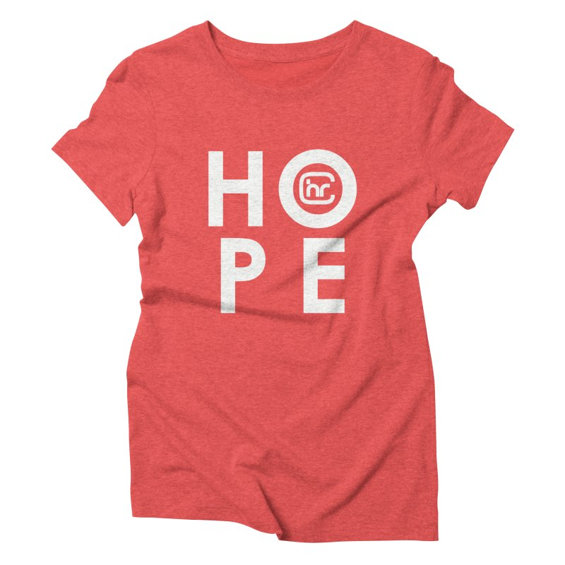 HOPE Women's Triblend T-Shirt by Church at Hampton Roads Apparel