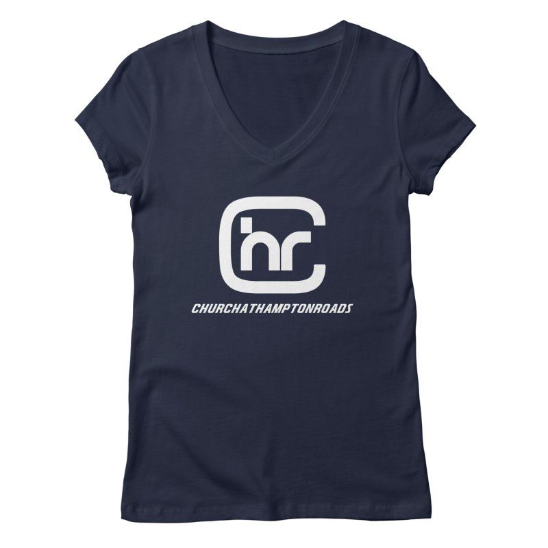 CHURCH AT HAMPTON ROADS Women's V-Neck by Church at Hampton Roads Apparel