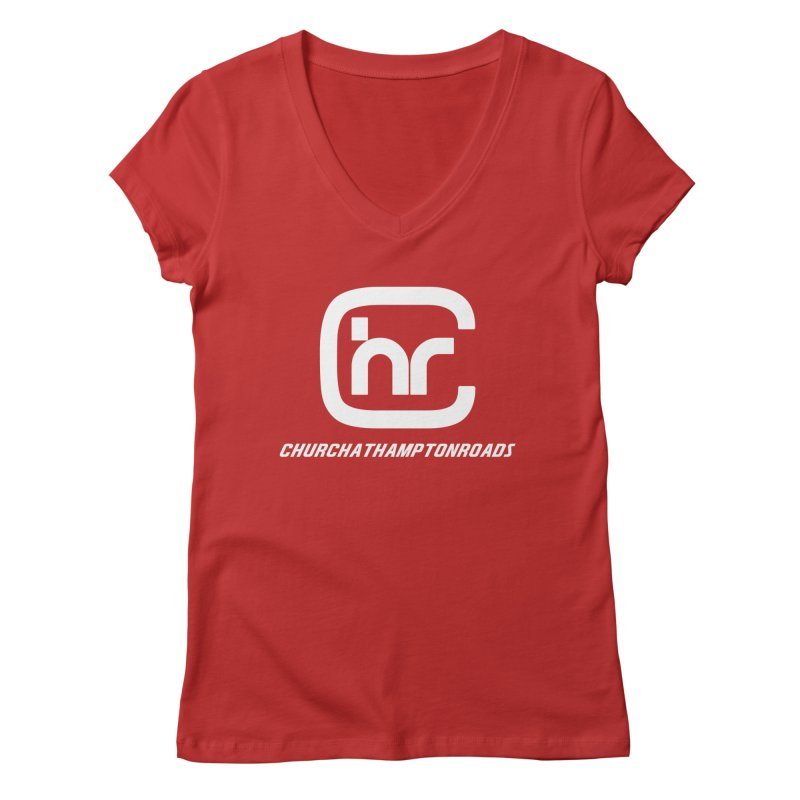 CHURCH AT HAMPTON ROADS Women's Regular V-Neck by Church at Hampton Roads Apparel