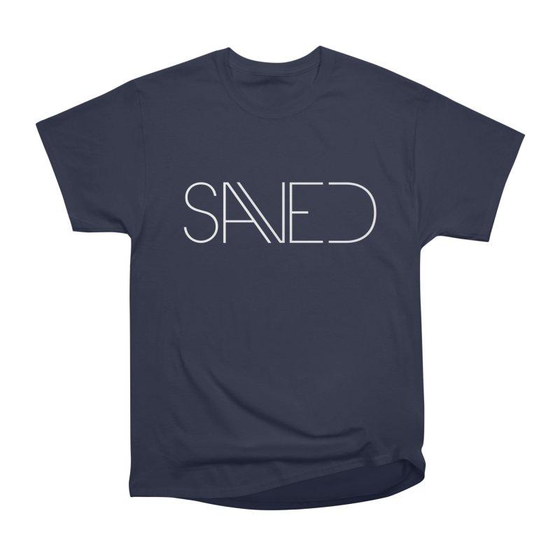 SAVED Women's Heavyweight Unisex T-Shirt by Church at Hampton Roads Apparel