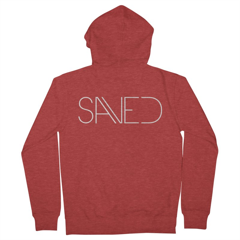 SAVED Men's French Terry Zip-Up Hoody by Church at Hampton Roads Apparel