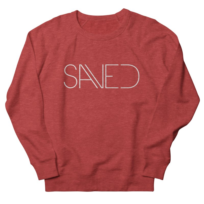 SAVED Men's French Terry Sweatshirt by Church at Hampton Roads Apparel